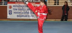 Wushu - Kung Fu  festivali Aydın'da göz kamaştırdı