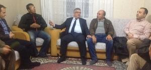 Aksaray Valisi Pekmez'den gaziye ziyaret