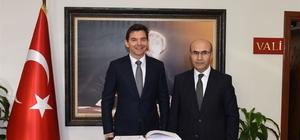 Avustralya Büyükelçisi Larsen Adana'da