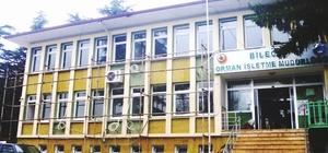 60 yıllık Bilecik Orman İşletme İl Müdürlüğü binası yenileniyor
