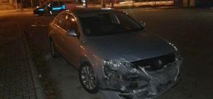 Gölbaşı ilçesinde otomobil ile motosiklet çarpıştı: 1 yaralı