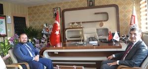 ASP İl Müdür vekili İlbaş'a tebrik ziyaretleri
