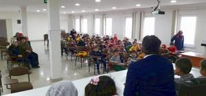 Minik öğrencilerden Sinop İl Müftülüğüne ziyaret