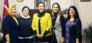 AK Parti yönetiminden Başkan Güneş'e ziyaret