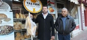 Burhaniye'de havalar soğudu askıda ekmeğe ilgi arttı