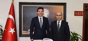 Avustralya'nın Ankara Büyükelçisi Larsen Adana'da