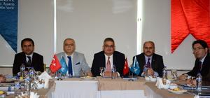 Aksaray'da AHİKA toplantısı yapıldı