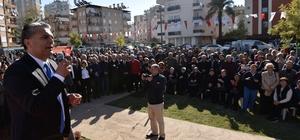 Muratpaşa'da 4 parkın açılışı yapıldı