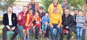 Fethiye'de engelli öğrenciler Galatasaraylı oldu
