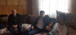 Suriye gazisine ziyaret