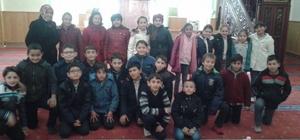 Öğrenciler camiyi ziyaret etti