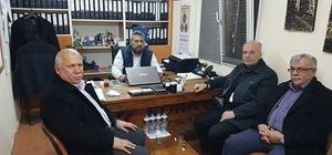 Dursunbey Belediye Başkanı Madencileri Ziyaret Etti