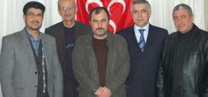 Dursunbey MHP İlçe Başkanı Mustafa Sarnıç Oldu