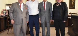 Kamu-Der Genel Başkanı Baştuğ, Yücel'i ziyaret etti
