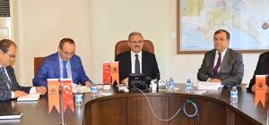 Vali Karaloğlu, Karayolları Bölge Müdürlüğünün çalışmaları hakkında bilgi aldı