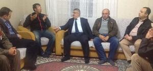 Vali Aykut Pekmez yaralanan Uzman Çavuş Asım Yiğit'i ziyaret etti