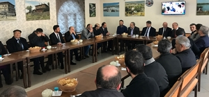 Rektör Prof. Dr. Refik Polat'tan Eflani'ye ziyaret