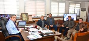 Söke MHP'den Haluk Alıcık'a ziyaret