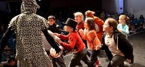 Çocuk tiyatrosunun en güzel örnekleri Bozüyük'te