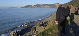 Zonguldak'ta otomobil denize düştü: 1 yaralı