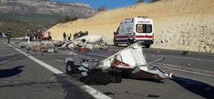 Mersin'de trafik kazası: 2 ölü