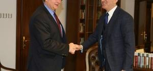 AB Bakanı Çelik, Berger'i kabul etti