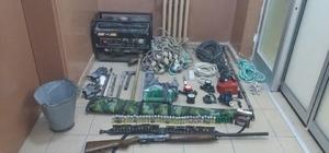 Karaman'da kaçak kazı yapan 6 kişi yakalandı