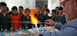Salihli'de öğrenciler cam sanatı ile tanıştı