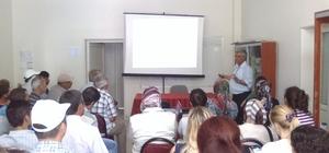 Lapseki'de sürü yönetimi kursu açıldı
