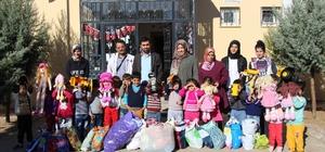 Vilayetler Anaokulundan Suriyeli çocukların kazandırılmasına destek