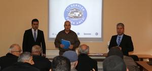 Hadim'de servis şoförlerine trafik eğitimi