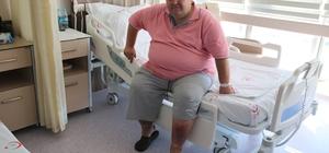 30 yıllık obezite hastası mide ameliyatı oldu