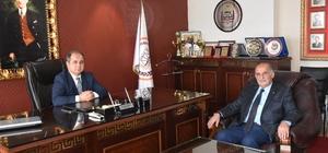 MTSO Başkanı Hasan Hüseyin Erkoç'dan Baro Başkanına hayırlı olsun ziyareti