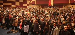 Edirne'de ''Biz de Varız''  tiyatro etkinliği düzenlendi