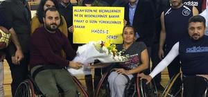 AK Parti'li gençler engellilerle maç yaptı