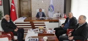 TSM konseri öncesi Başkan Cabbar'a ziyaret