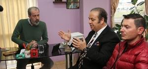 Kaymakam Yıldız'ın Gazeteciler Cemiyetini ziyareti