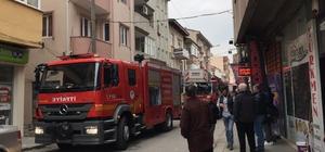Iraklı ailenin kaldığı evin balkonunda yangın çıktı