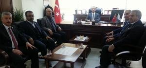 Malatya Sağlık-Sen şubesinden Kamu Hastaneleri Birliği Genel Sekreterliğine ziyaret