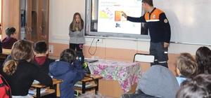 Bartın AFAD'dan öğrencilere doğal afet eğitimi