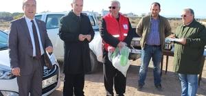 Kaymakam Nazlı ve Başkan Yardımcısı Bacan selden zarar gören bölgeleri mercek altına aldı
