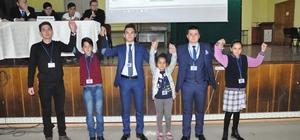 Balıkesir'de il öğrenci meclis başkanı seçildi