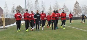 Kayserispor'da Atiker Konyaspor maçı hazırlıkları