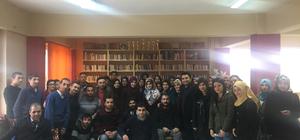 BEÜ öğrencilerinden ASİBED'e ziyaret