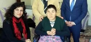 Salihli'de engellilerin yüzü gülüyor