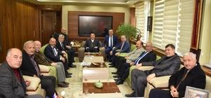 Başkan Çerçi esnaf ve sanatkarları ağırladı
