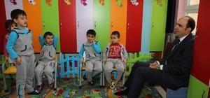 Selçuklu Belediye Başkanı Altay'dan ilkokula ziyaret