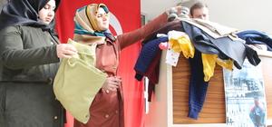 """""""Halep üşümesin"""" diye Edirne'den kışlık kıyafet gönderecekler"""
