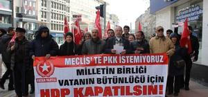 Vatan Partisi'nden 'HDP kapatılsın' çağrısı
