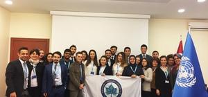 ESOGÜ DİPLOMUN heyeti Birleşmiş Milletler Türkiye Temsilciliği'ni ziyaret etti
